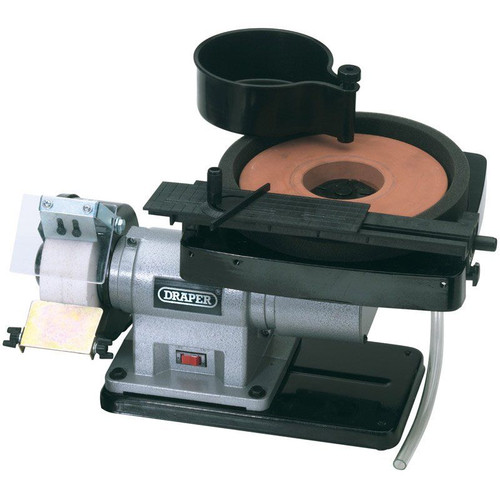 Draper Tools Wet and Dry Bench Grinder tool sharpener