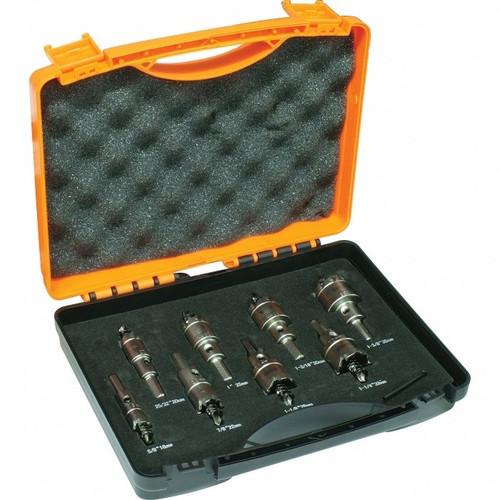 8pc Carbide Tipped Metal Holesaw set