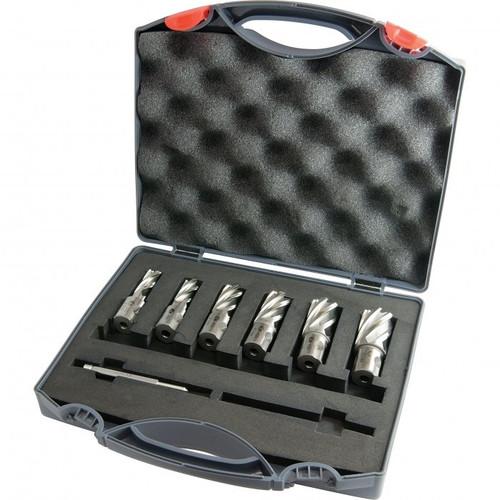 Metalmaster 6pc HSS mag drill Broach cutter set
