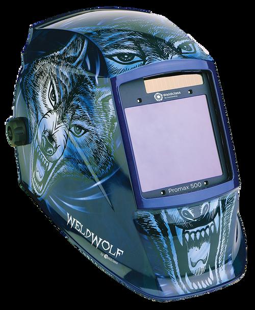 Weldclass Promax 500 Weldwolf Auto Darkening Welding Helmet