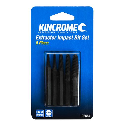 Kincrome 5pc Impact Screw Extractor Set
