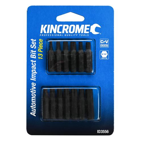 "Kincrome 13 Piece Automotive Impact Bit Set 5/16"" Drive"