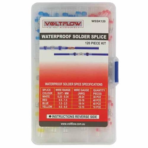 Voltflo 120pc Solder splice Assortment pack