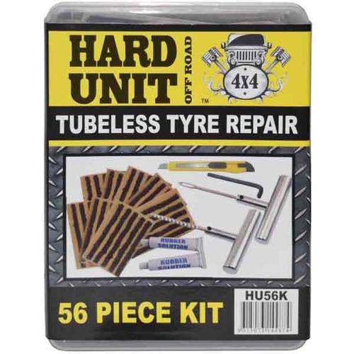 Hard Unit 54pc Tubeless tyre repair kit