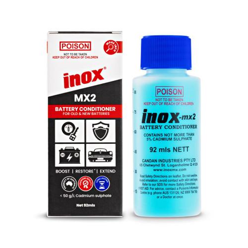 INOX MX2 Battery Conditioner rejeuvenator Fluid 92mL