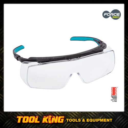 Force 360 Over specs safety glasses Clear