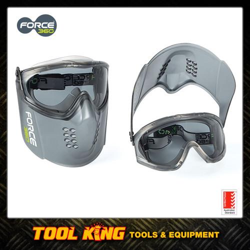 Force 360 Goggle & Mask combo Smoke FPR861