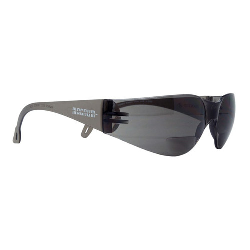 Magnum BiFocal Safety glasses Magnified lens Tinted  +1.5