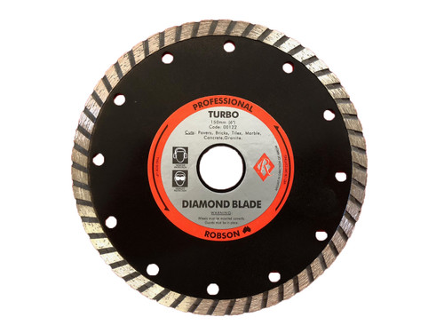 "Diamond Blade 6"" 150mm Turbo PROFESSIONAL GRADE Tile ceramic and granite cutting"