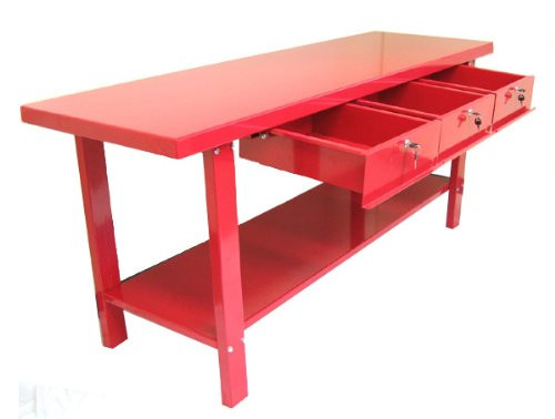 WORKBENCH 3 drawer steel