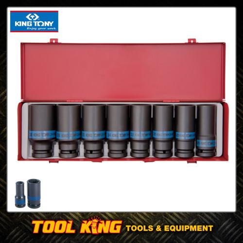 "3/4"" Drive Socket set Deep metric KING TONY Professional"