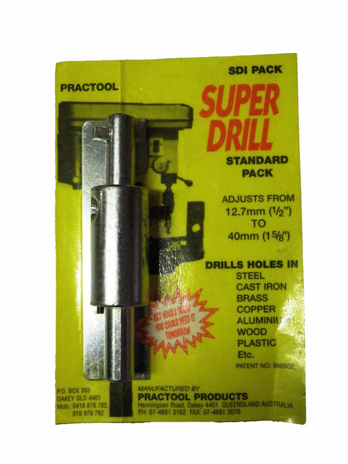 Super Drill  large size Drill bit for metal  Adjustable from 12.7mm to 40mm
