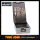 25pc Cobalt Drill bit set for stainless steel  Made in Europe
