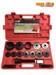 17pc Front wheel bearing service kit