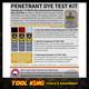 Weld crack dye penetrant detection kit