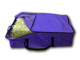 Hay Bale bag for stock feed Purple