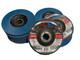 """Flap Disc x 10pc Industrial Grade 5"""" 125mm 60g  FLEXPRO German Zirconium"""