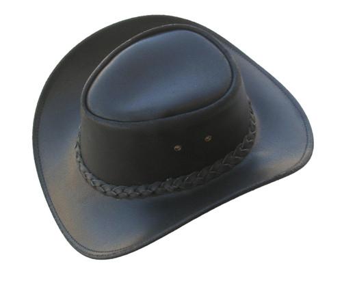 black cowboy hat front