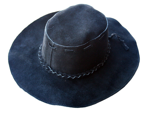 floppy hat black front