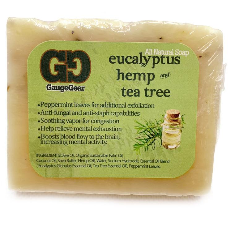 Eucalyptus Hemp and Tea Tree | Soap Bar | All Natural