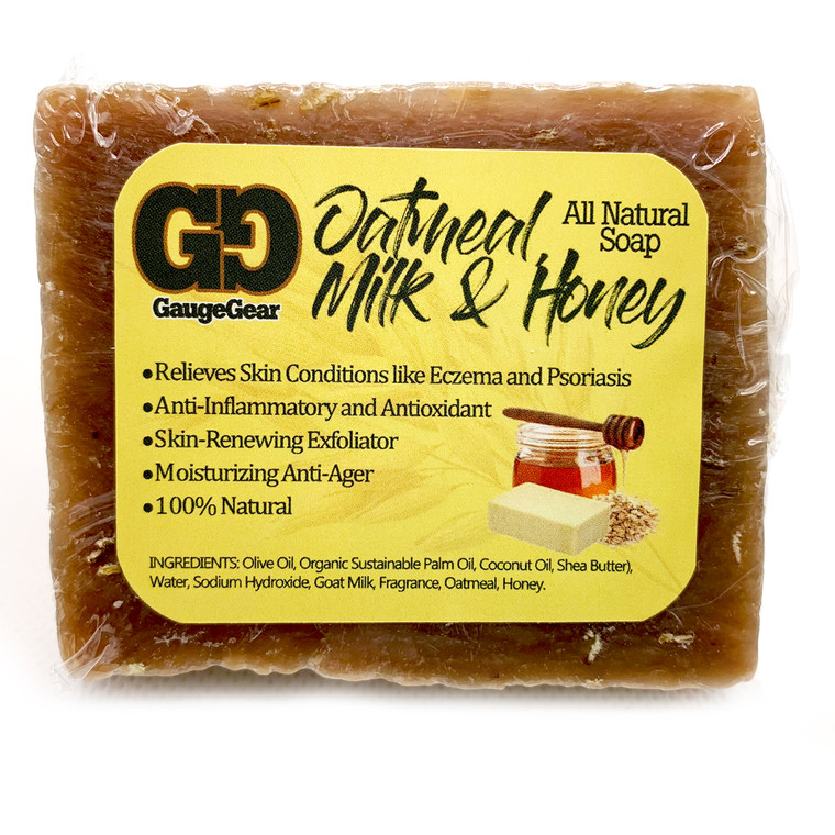 Oatmeal Milk and Honey (Goat Milk)| Soap Bar | All Natural