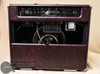 "Mesa Boogie Triple Crown TC-50 1x12"" 50-watt Tube Combo Amplifier in Wine Taurus with Tan Jute Grille and Leather Corners (1.TC.117D.V26.V26.G03.P03.H04.C02.V)"