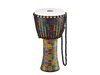 Meinl Rope Tuned Travel Series Djembe with Synthetic Head in Kenyan Quilt (PADJ2-L-F)