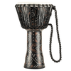 "Meinl Rope Tuned Travel Series Djembe 10"" - Kanga Sarong"