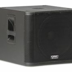 "QSC KW181 Powered Sub Woofer 18"" 1000 Watts"