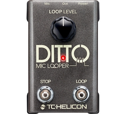 TC Helicon Ditto Mic Looper | Northeast Music Center Inc.