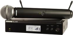 Shure BLX24R/SM58 Handheld Wireless System - Band J10, 584-608MHz