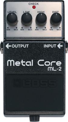 Boss ML-2 Metal Core Distortion Pedal