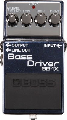 BOSS BB-1X Bass Overdrive Pedal (BB-1X)