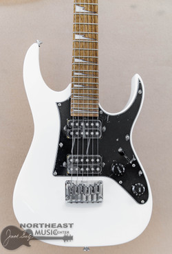 Ibanez Mikro GRGM21 - White | Short Scale Electric Guitar - Northeast Music Center inc