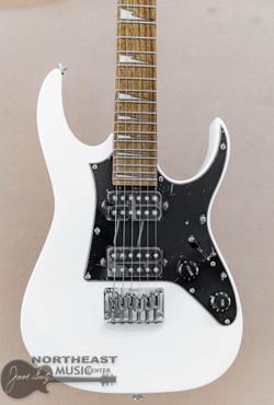 Ibanez Mikro GRGM21 - White | Short Scale Electric Guitar - Northeast Music Center inc