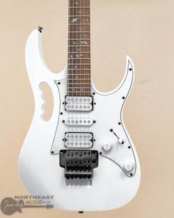 Ibanez JEMJR Steve Vai Signature Electric Guitar - White | Northeast Music Center inc.