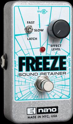 EHX Freeze Sound Retainer   Electro-Harmonix Effects Pedal - Northeast Music Center