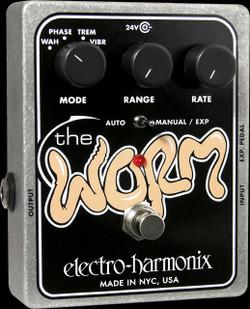 Image of Electro-Harmonix XO Worm Analog Modulation Multi Effects Pedal