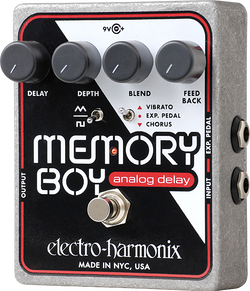 Electro-Harmonix Memory Boy Delay Guitar Effects Pedal
