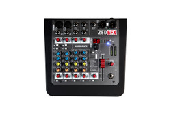 Top overview of Allen & Heath ZED-6FX