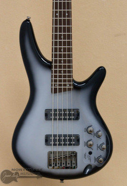 Ibanez SR305E Electric Bass Guitar - Metallic Silver Sunburst