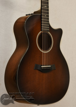 Taylor 524ce Grand Auditorium Acoustic Electric Guitar - Shaded Edge Burst | Northeast Music Center inc.