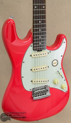 Sterling by Music Man CT50 Cutlass - Fiesta Red | Northeast Music Center inc.