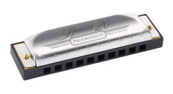 Hohner Special 20 Progressive Harmonica 560PBX in C