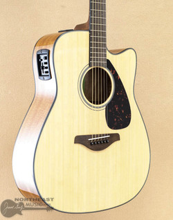 Yamaha FGX800C Acoustic Electric Dreadnought Guitar | Northeast Music Center Inc.