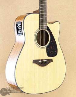 Yamaha FGX800C Acoustic Electric Dreadnought Guitar | Northeast Music Center Inc.