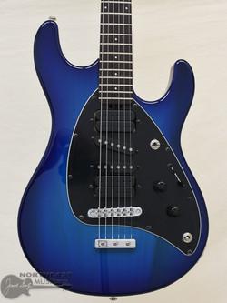 Ernie Ball Music Man Steve Morse - Morse Blue Burst | Northeast Music Center inc.