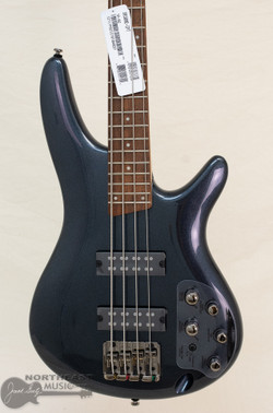 Ibanez SR300E Electric Bass Guitar - Iron Pewter | Northeast Music Center Inc.