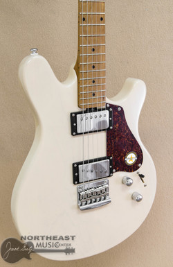 Sterling JV-60 Valentine - Transparent Buttermilk | Sterling by Ernie Ball Music Man Electric Guitars - Northeast Music Center
