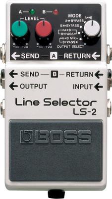 Boss LS-2 Line Selector & Power Supply Pedal | Northeast Music Center inc.